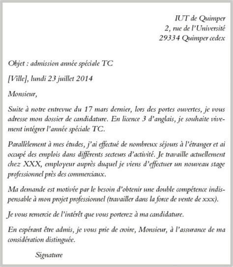 Exemple De Lettre De Motivation Dut Tc Le Dossier D Un 233 Tudiant En Anglais Pour Int 233 Grer Un Dut Tc En 233 E Sp 233 Ciale L Etudiant