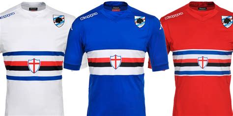 Jaket Samdoria 201415 sdoria 14 15 home away and third kits leaked footy headlines