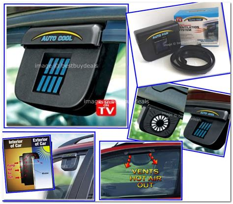 Solar Powered Car Air Ventilation System Sistem Venti Murah solarni ventilator za auto e oprema