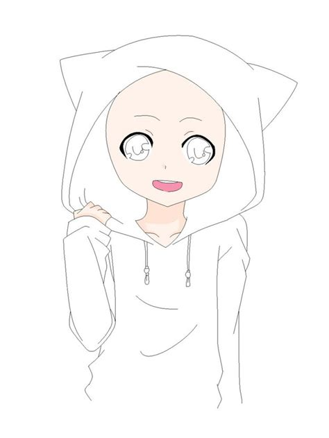 Anime Base by Anime Boy Base Cat Hoodie Base By Natalielobsters