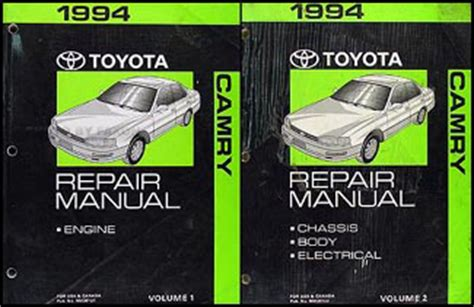 best auto repair manual 1997 toyota camry transmission control 1994 toyota camry wiring diagram manual original