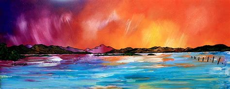 spray painting edinburgh scottish landscape paintings prints of loch lomond and
