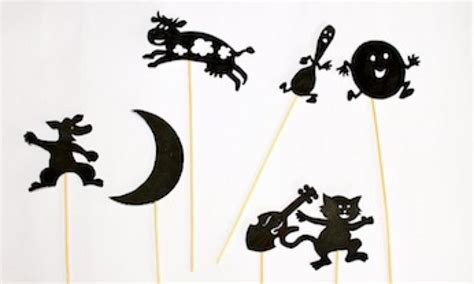 shadow puppets templates make hey diddle diddle shadow puppets kidspot