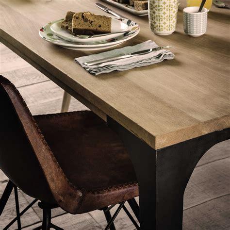 solid mango wood dining table  metropolis maisons du