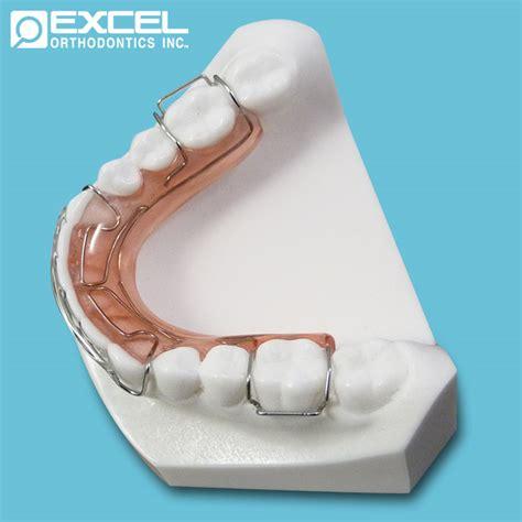 Acrylic Retainer retainers excel orthodontics