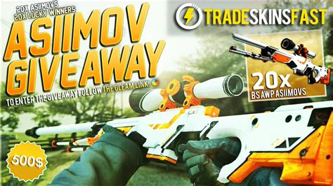 Gleam Io Csgo Giveaways - csgoskins on topsy one