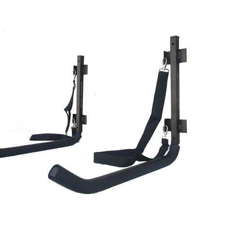 sparehand kc 10 wall mount kayak storage rack with safety
