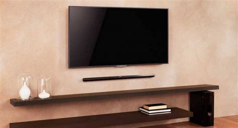 sound bar on top or below tv why use a soundbar or speakerbase rather than your tv s