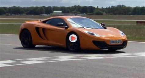 fastest mclaren top gear mclaren mp4 12c records second fastest power