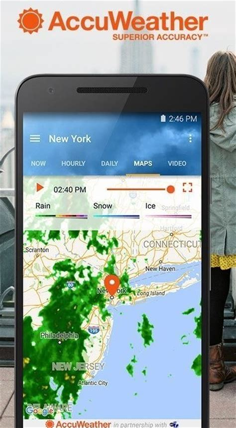 accuweather app for android accuweather announces all new universal app for android