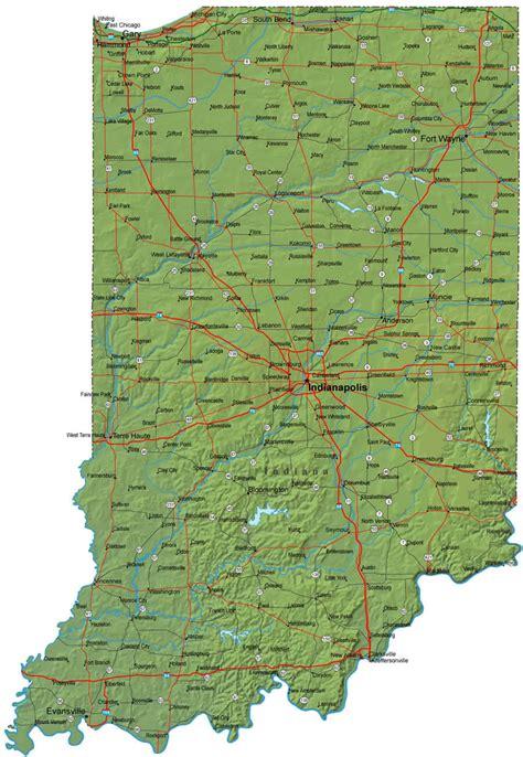 indianapolis usa map us map indiana afputra