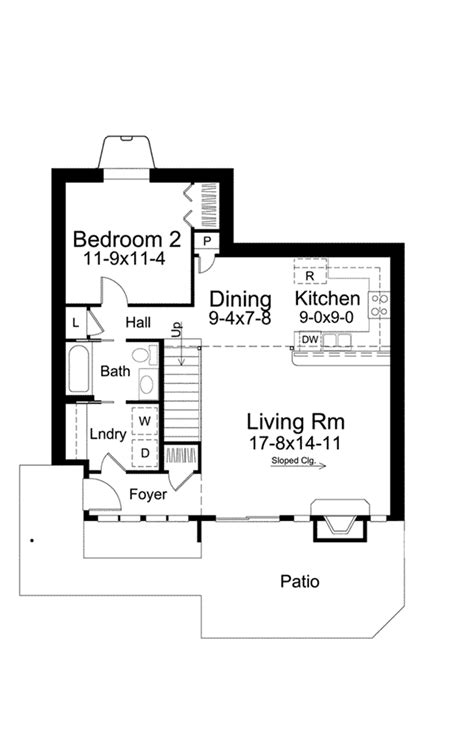 Berm House Floor Plans by Eureka Berm Home Plan 122d 0001 House Plans And More