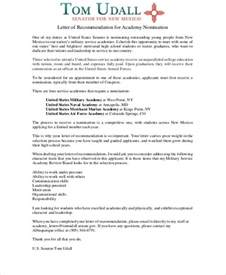 Recommendation Letter For Officer School Sle Letter Of Recommendation 7 Exles In Word Pdf