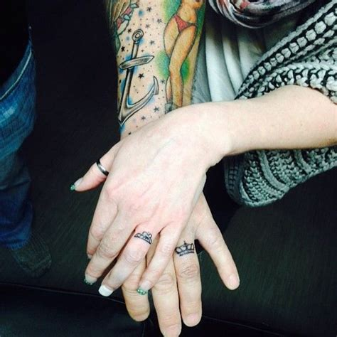 queen ring tattoo 69 best wedding ring tattoo images on pinterest wedding