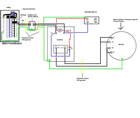 three phase compressor wiring diagram wiring diagrams