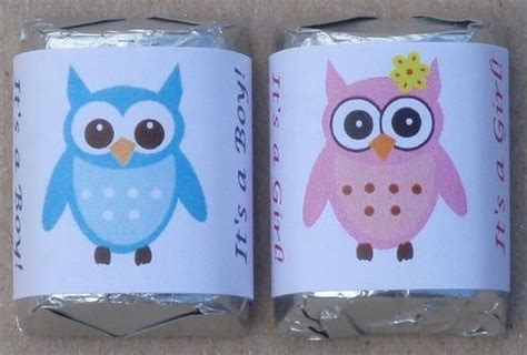 Baby Shower Boy Owl Theme by 30 Owl Theme Baby Shower Boy Hershey Nugget Labels