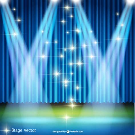 escenario  focos  luces brillantes descargar