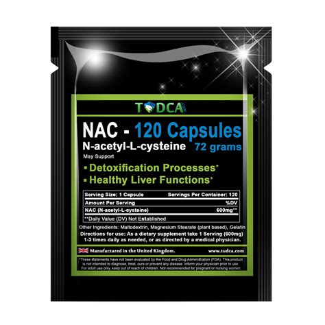 Nac Detox Side Effects by Nac 72 Grams Tudca Liver Support Supplement