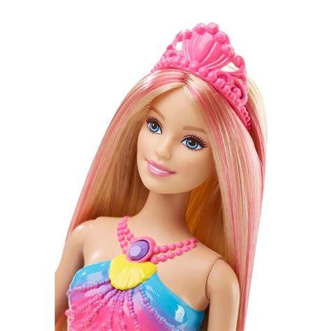 barbie rainbow lights mermaid doll barbie rainbow lights mermaid doll 163 22 00 hamleys for