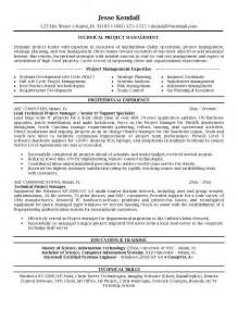 Excellent Resume Template by Excellent Project Manager Resume The Best Letter Sle