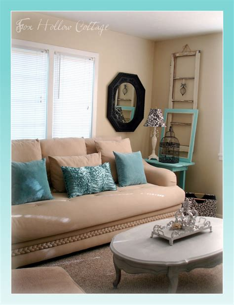 aqua living room aqua black white living room shabby thrifted mix home inspiration