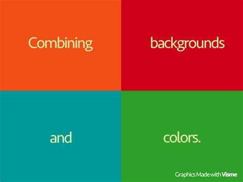 learn to combine colors like a pro how to combine backgrounds and colors visual learning