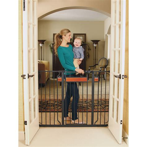 expansion swing gate evenflo expansion swing wide gate walmart com