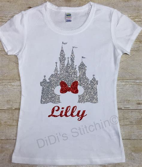 Disney Shirts Disney Castle Cinderella Castle Disney Shirts Custom