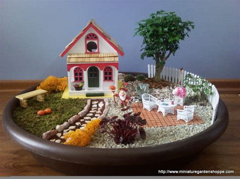 miniature garden houses inspiration gallery