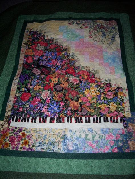 Piano Quilt Pattern by Quilt Piano Watercolor Quilts Mine