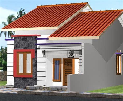 foto desain depan rumah kumpulan contoh foto dan gambar desain rumah mungil