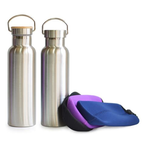 Just Stainless Steel Thermos Water Bottle Sport Series just ware classic thermos vacuum insulated water bottle stainless steel flask travel thermo mug
