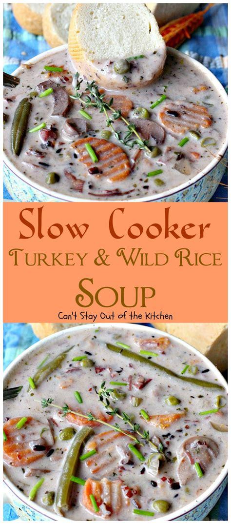 turkey rice soup recipe cooker turkey rice soup cooker