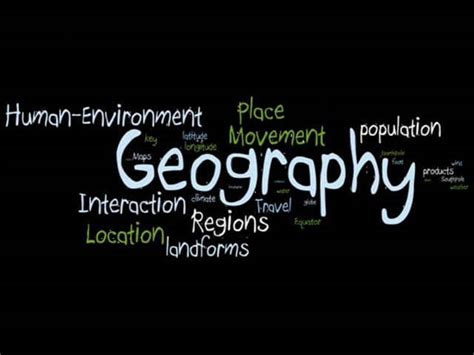 5 themes of geography vimeo introduction to 5 themes of geography on vimeo
