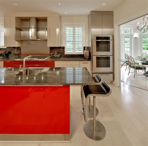 Red And White Kitchen Design by 18 Red And White Kitchen Designs Ideas Design Trends