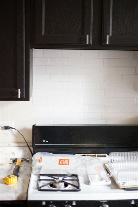 smart tiles kitchen backsplash 2018 an easy stick on tile backsplash that s for rental kitchens