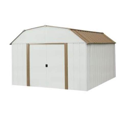 Metal Shed Home Depot by Arrow Dakota 10 Ft X 14 Ft Steel Shed Dk1014 The Home