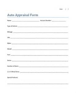sample car appraisal form 7 free documents in pdf