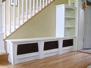 Craftman Style Home Plans bench bookcase entryway display shelves entryway bench