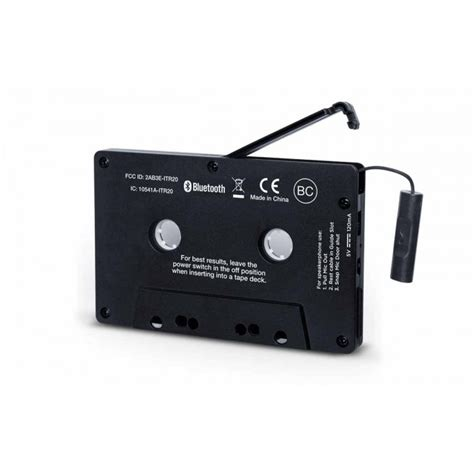 bluetooth cassette adapter ion bluetooth cassette adapter receiver for cassette
