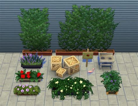 liberated garden stuff by plasticbox at mod the sims
