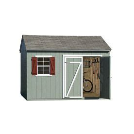 Heartland Sheds Lowes by Heartland Gentry Saltbox Engineered Wood Storage Shed