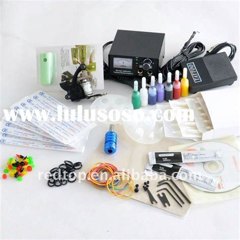 cheap tattoo supplies kit machine kits for sale price china