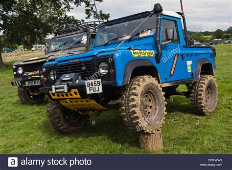 highly modified 4x4 land rover defender 90 for