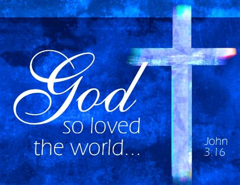 for god so loved the world anointed sermons