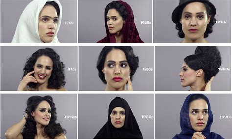 iranian woman hair cut photoes 100 years of beauty in iran shows how women s beauty has