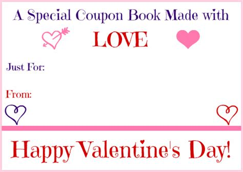 printable valentine s day coupon book template money savvy michelle s free printable valentine s day