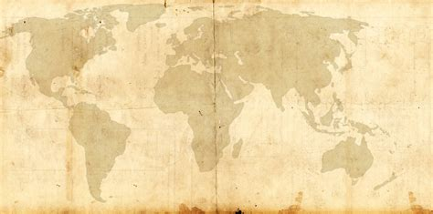 world map template steunk victorian style by