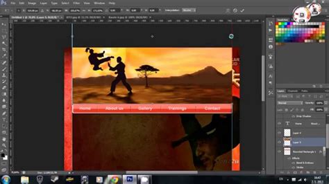 website layout in photoshop cs6 how to easy webdesign tutorial in adobe photoshop cs6