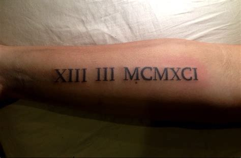 45 unique roman numerals tattoo that speaks more than just 45 unique roman numerals tattoo that speaks more than just